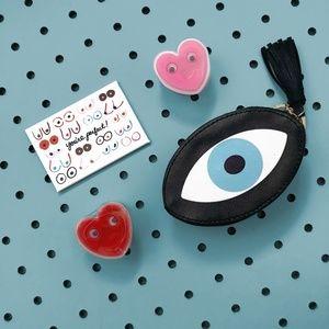 👁 FREE in $50+ bundle // Evil Eye Coin Purse👁